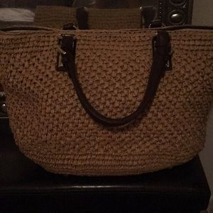 Michael Kors bamboo purse